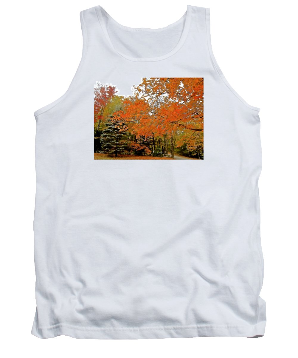 Tank Top featuring the photograph Out Of Season by Elizabeth Tillar