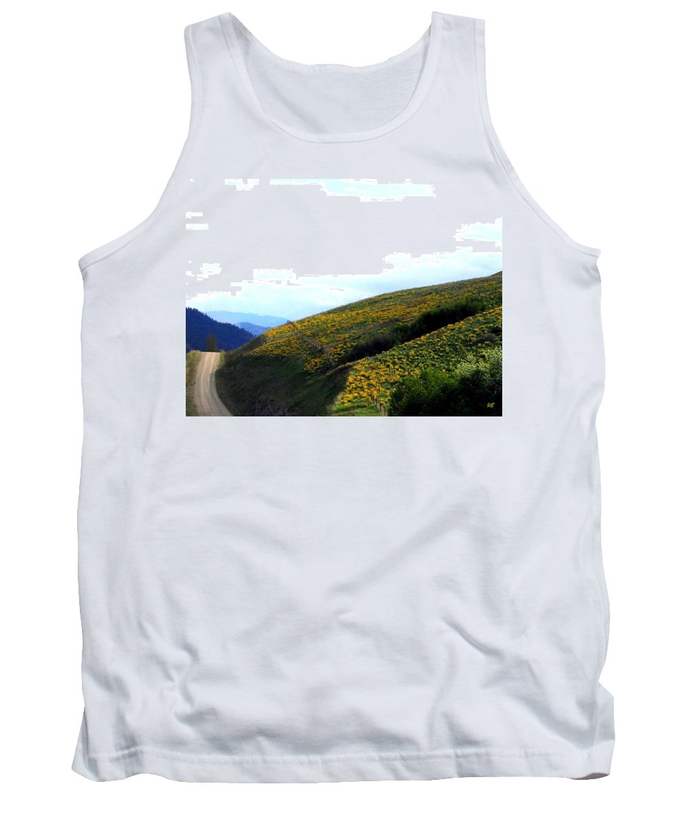 Hills Tank Top featuring the photograph Over Hill And Dale by Will Borden