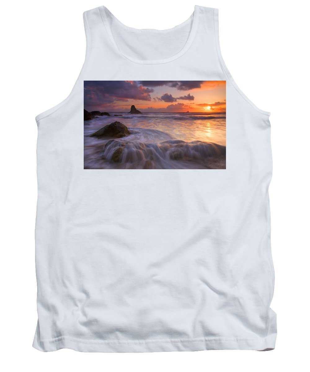 Sunset Tank Top featuring the photograph Overcome by Mike Dawson