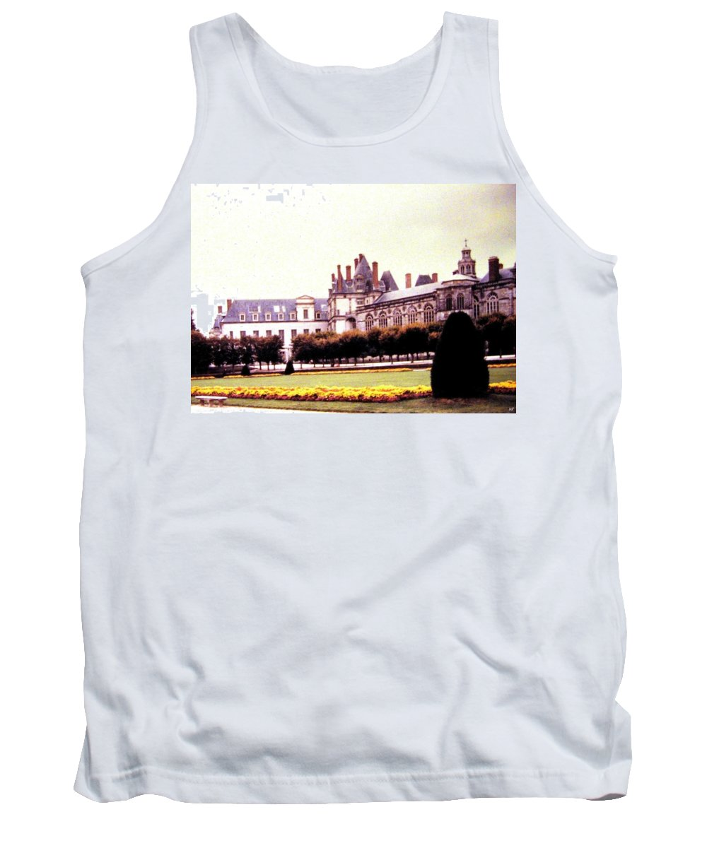 1955 Tank Top featuring the photograph Palace Of Fontainebleau 1955 by Will Borden