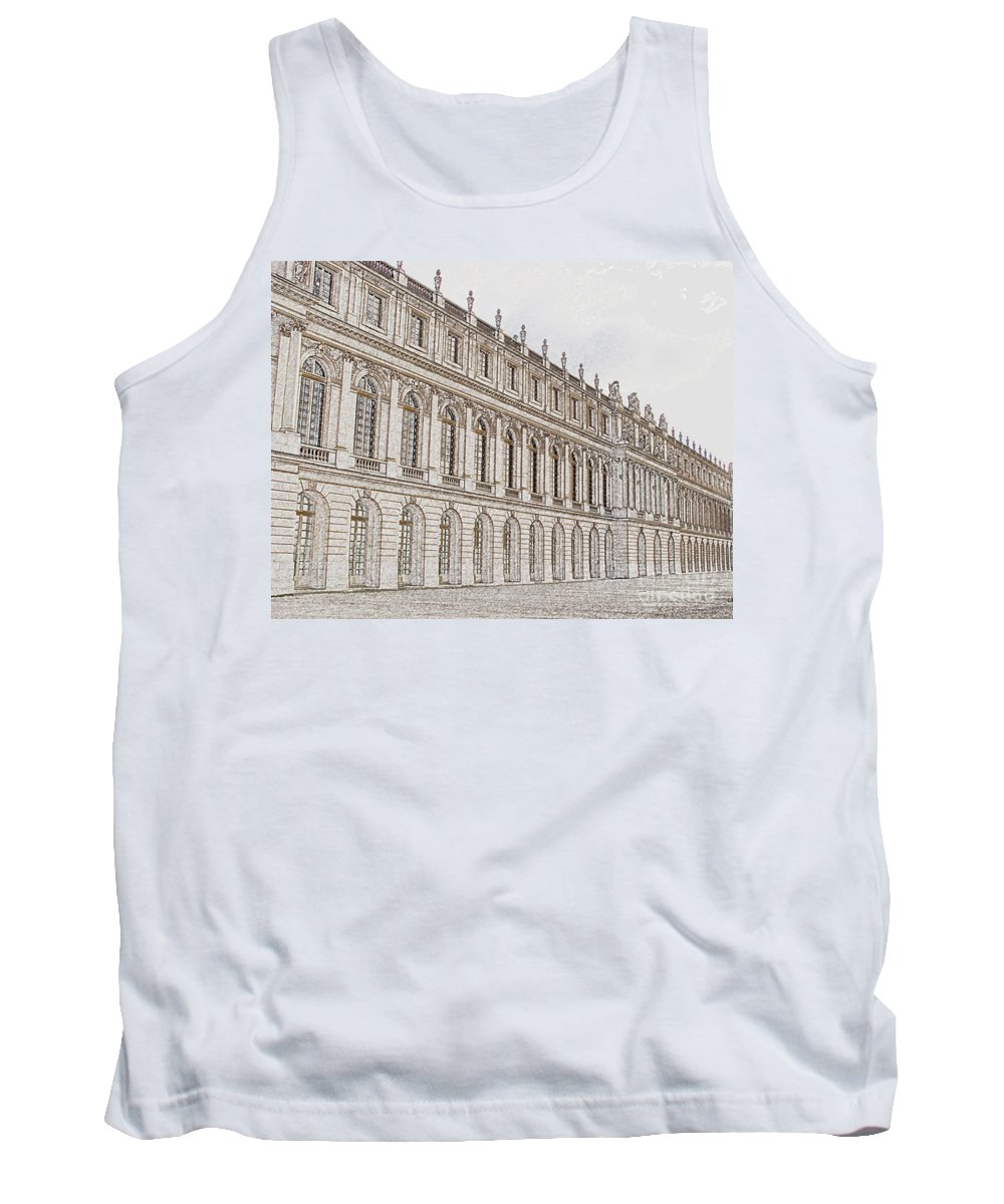 France Tank Top featuring the photograph Palace Of Versailles by Amanda Barcon
