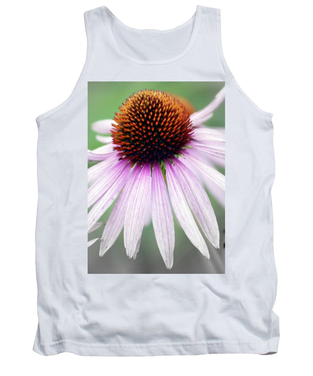 Flowers Tank Top featuring the photograph Pale Grey by Marty Koch