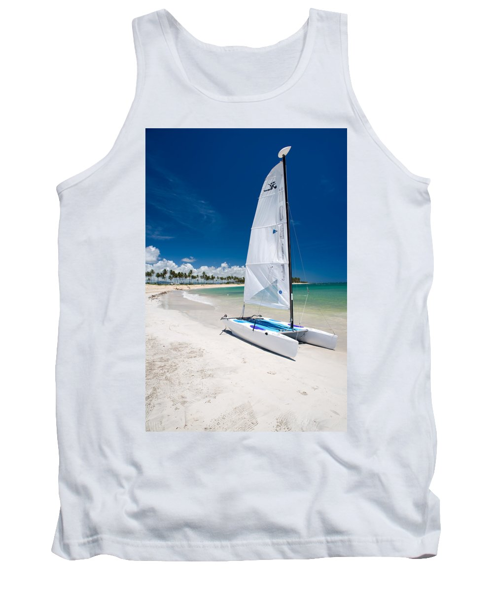 Island Tank Top featuring the photograph Paradise Island by Sebastian Musial