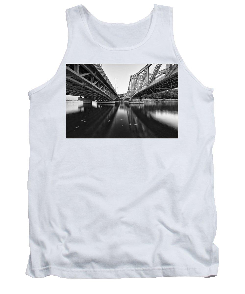 Bridge Tank Top featuring the photograph Parallel Bridge by Baptiste De Izarra