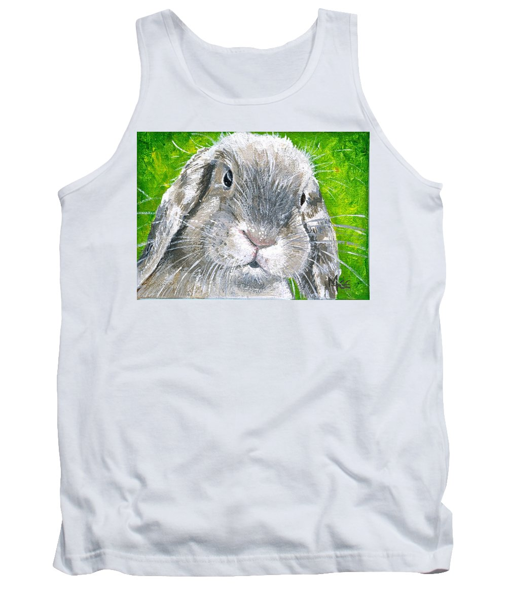 Charity Tank Top featuring the painting Parsnip by Mary-Lee Sanders