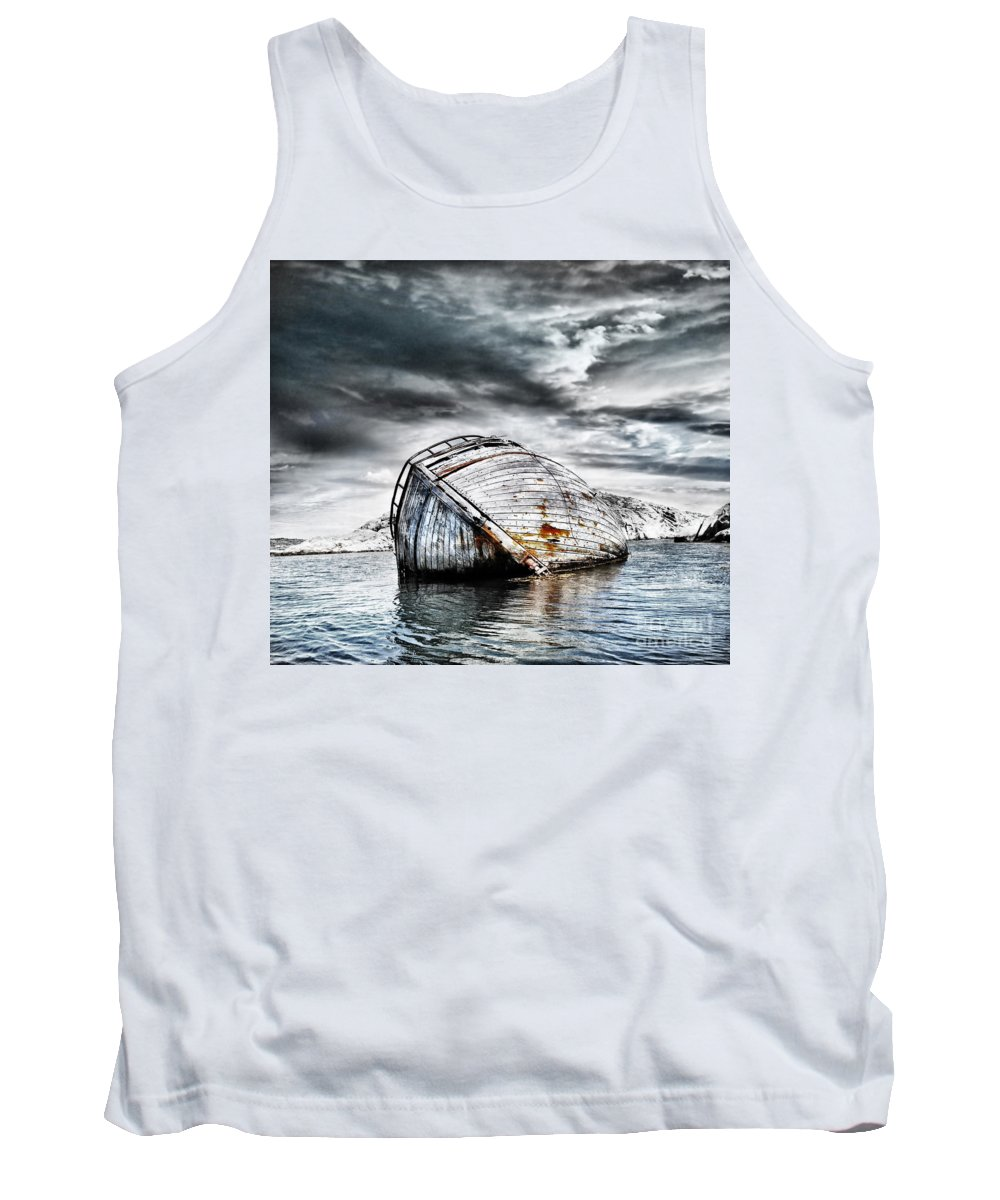 Photodream Tank Top featuring the photograph Past Glory by Jacky Gerritsen
