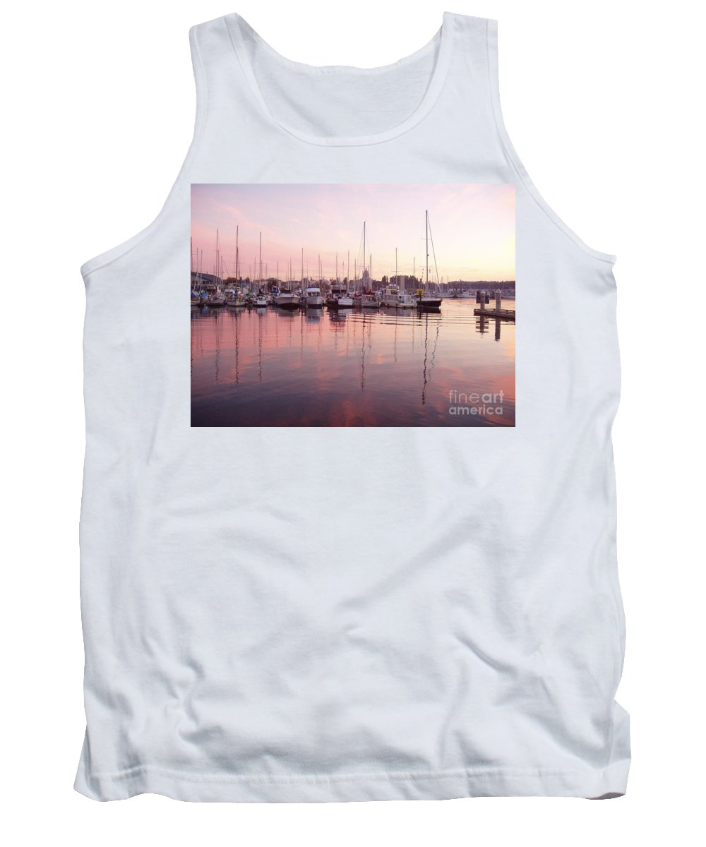 Pastel Tank Top featuring the photograph Pastel Waters by Deborah Crew-Johnson