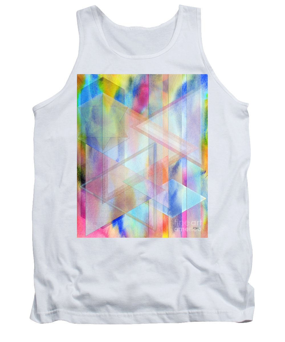 Pastoral Moment Tank Top featuring the digital art Pastoral Moment by John Beck