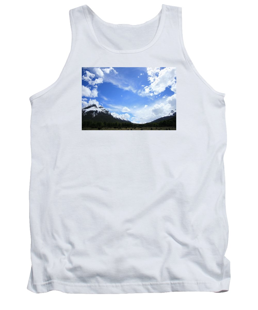 Argentina Tank Top featuring the photograph Patagonia by Andrew Parker