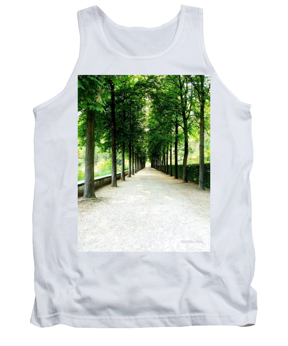 Path Tank Top featuring the photograph Pathway by Deborah Crew-Johnson