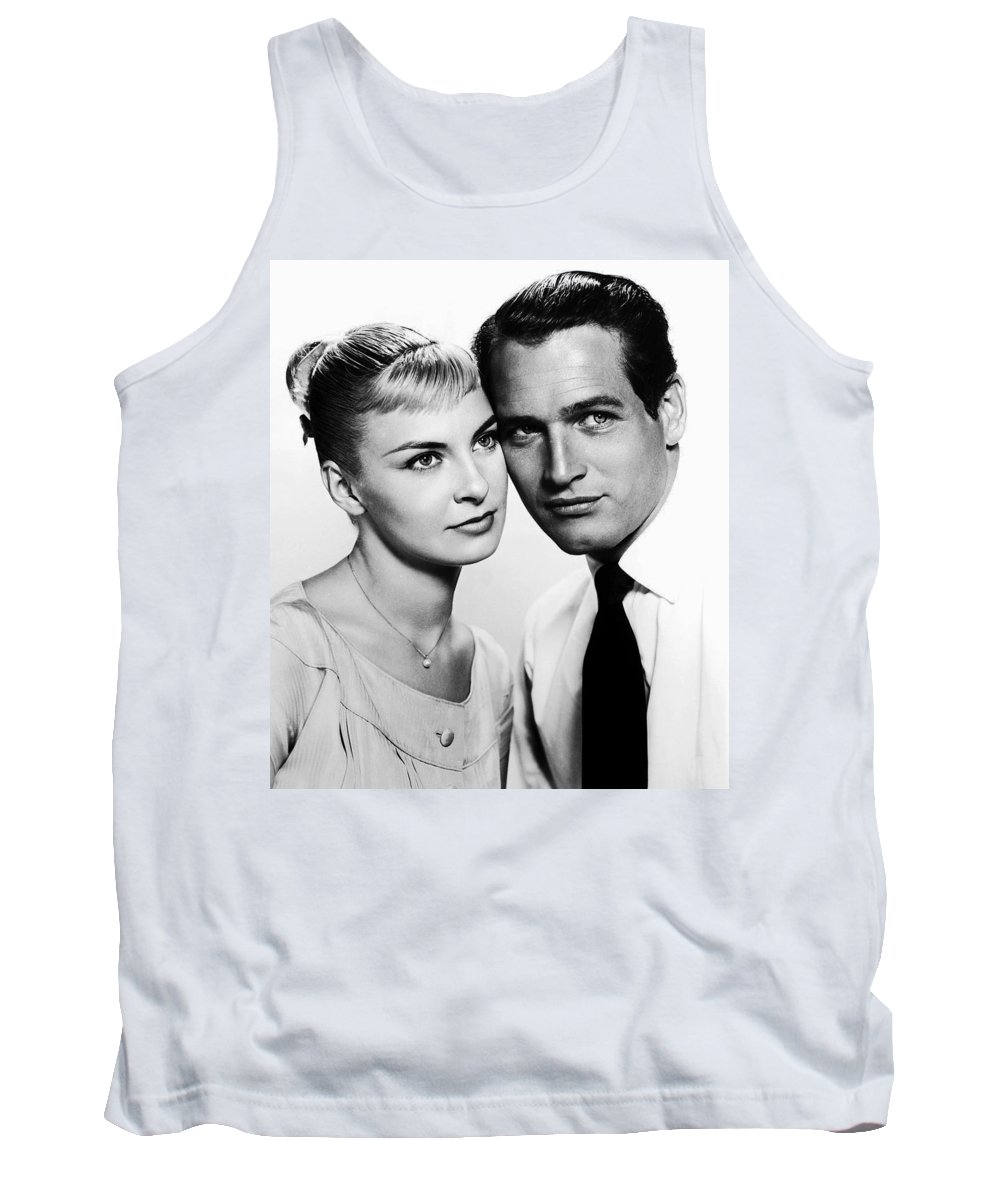 Publicity Photo Tank Top featuring the photograph Paul Newman And Joanne Woodward In The Long Hot Summer 1958 by Mountain Dreams