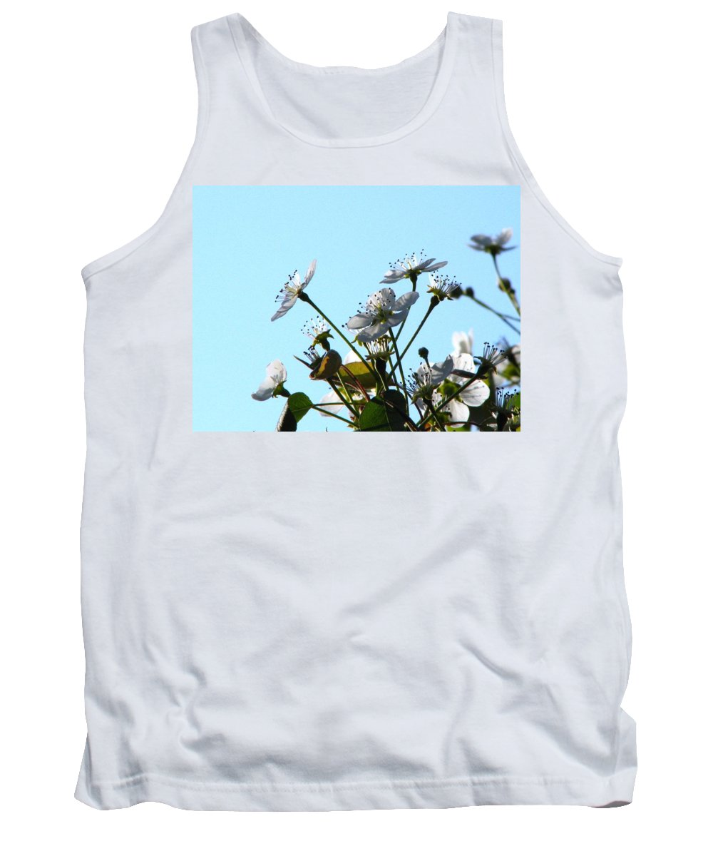 Pear Tree Blossum Tank Top featuring the photograph Pear Tree Blossoms 5 by J M Farris Photography