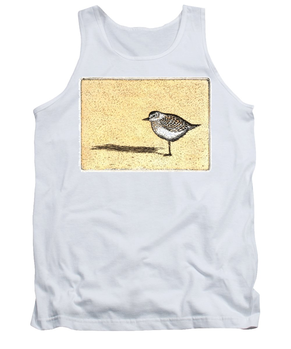 Peep Tank Top featuring the painting Peep by Charles Harden