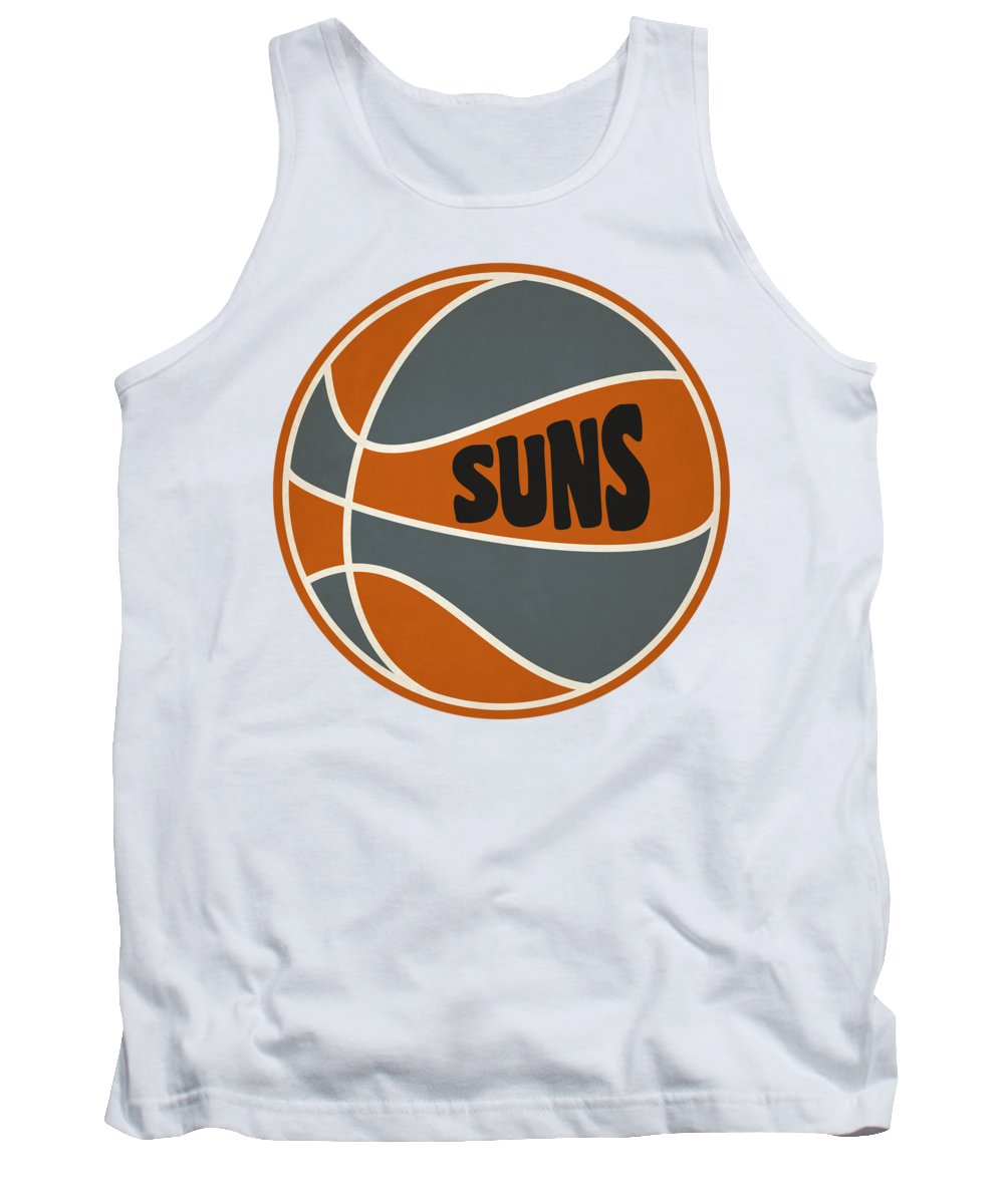 Suns Tank Top featuring the photograph Phoenix Suns Retro Shirt by Joe Hamilton