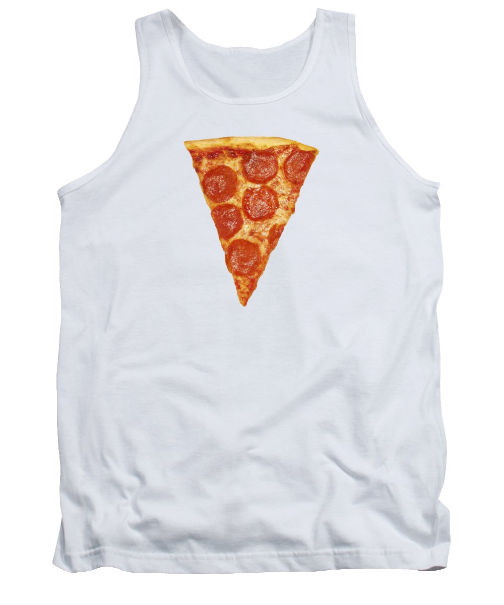 Pizza Tank Top featuring the photograph Pizza Slice by Diane Diederich