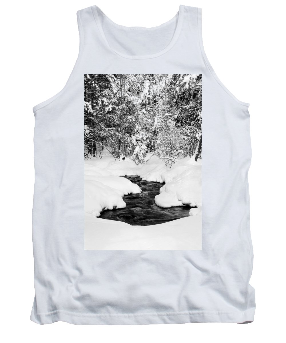 Merrimack Tank Top featuring the photograph Pool by Greg Fortier