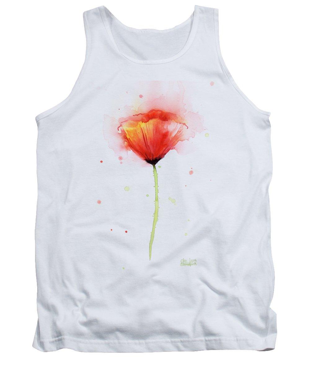 Flower Tank Tops