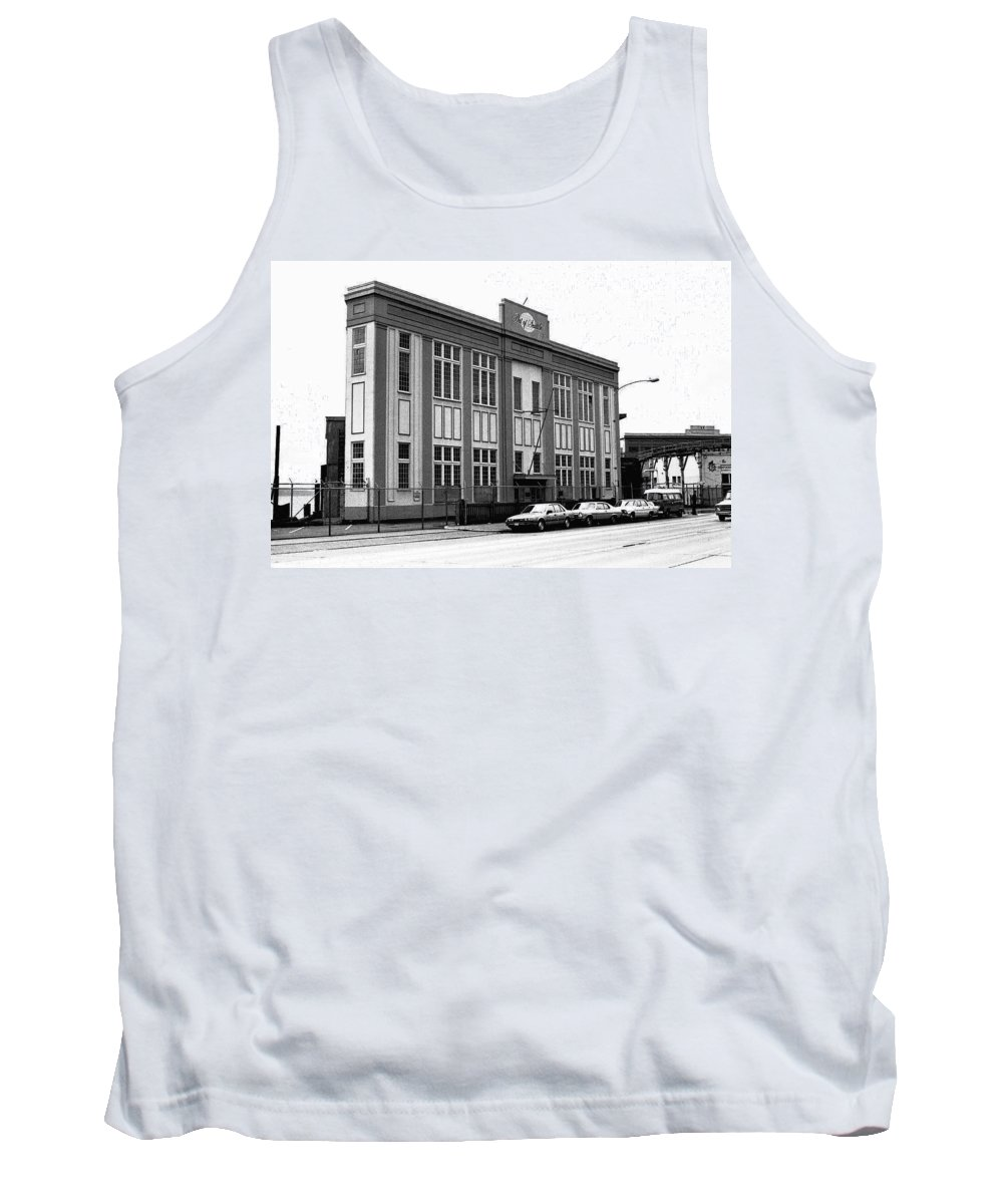 Building Tank Top featuring the photograph Port Of Seattle by Karen Ulvestad
