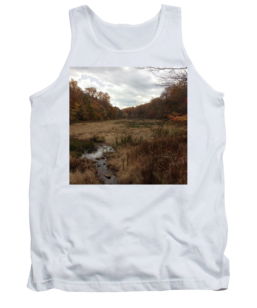 Portrait Of America Tank Top featuring the photograph Portrait Of America - Trickling Away by Kevin Braybon