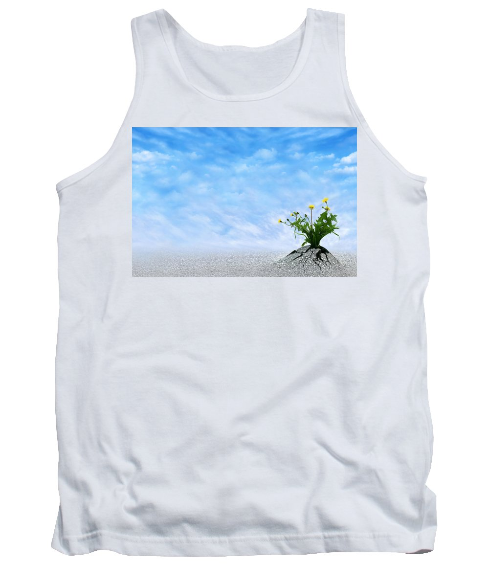 Believe Tank Top featuring the photograph Power Of Life by Dreamland Media