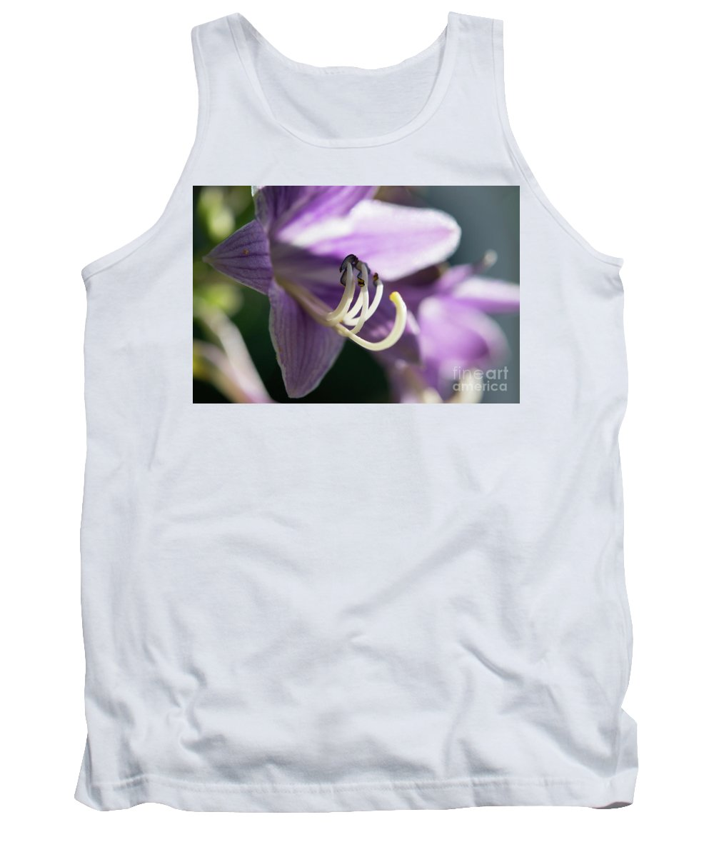 Ohio Flower Tank Top featuring the photograph Purple Flowers by Michelle Himes