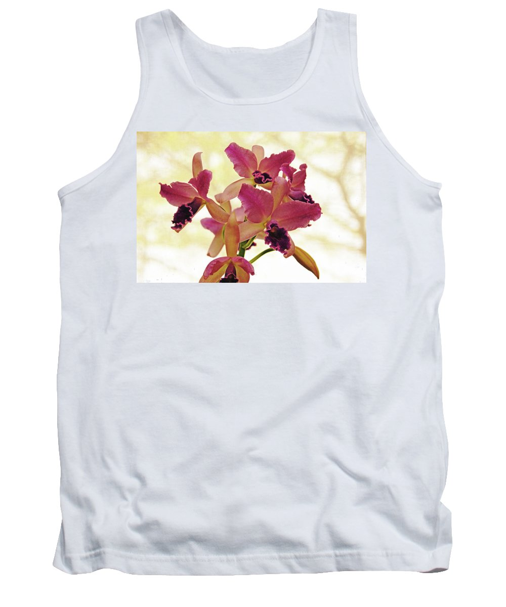 Orchids Tank Top featuring the photograph Queen Of Orchids by Debbie Oppermann