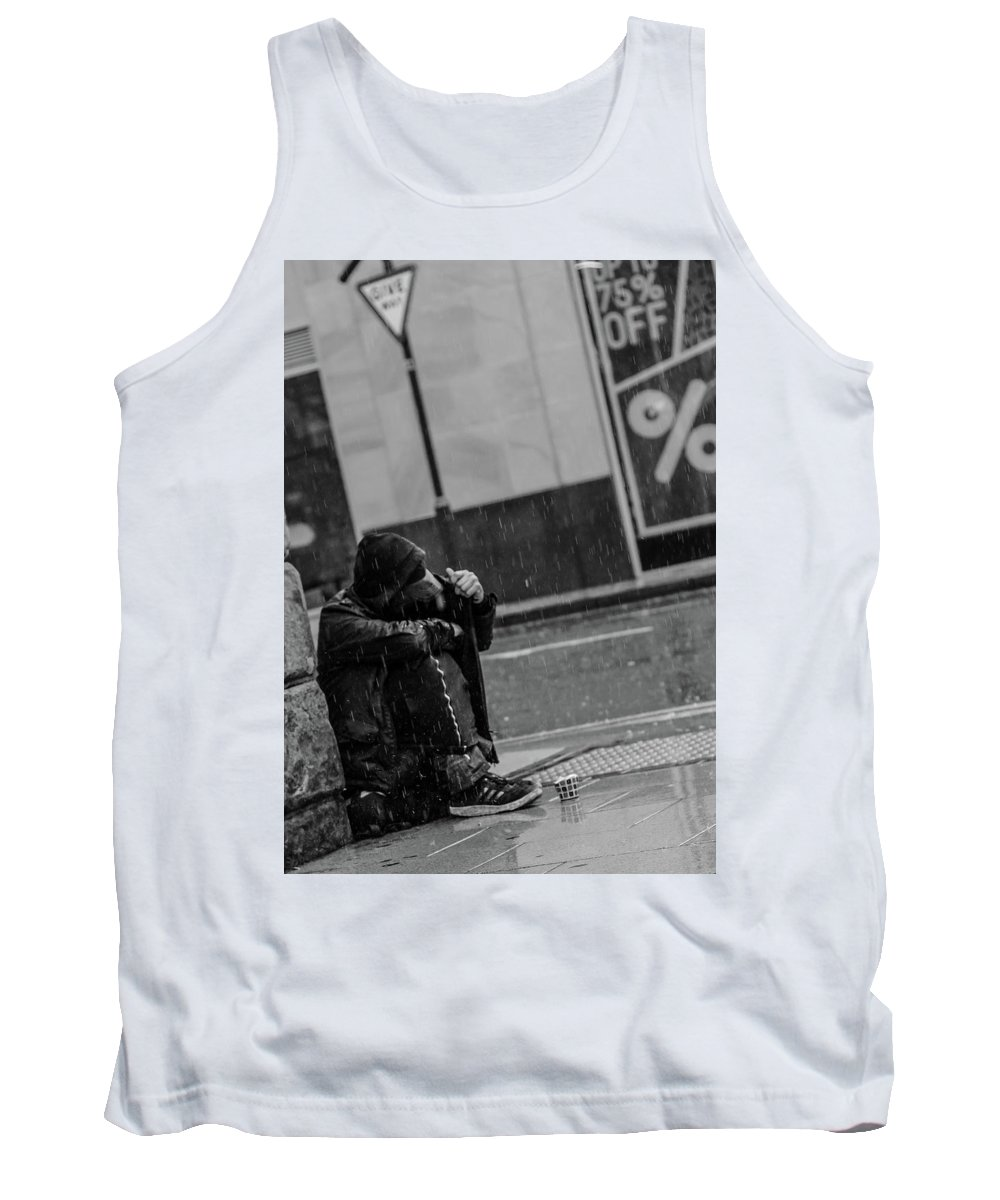 Rain Tank Top featuring the photograph Rainy Days by Lee Pirie