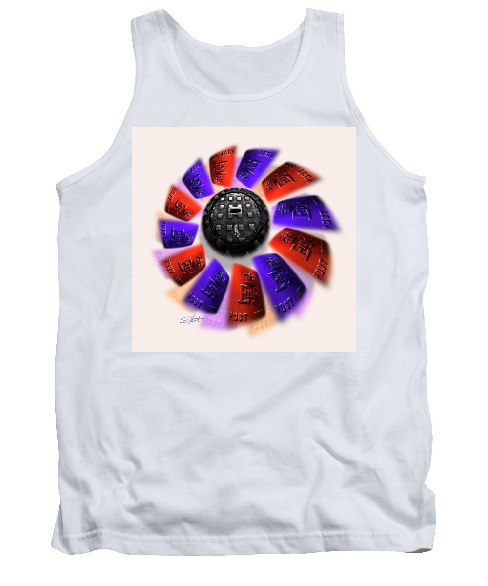 Urban Tank Top featuring the photograph Rally by Charles Stuart