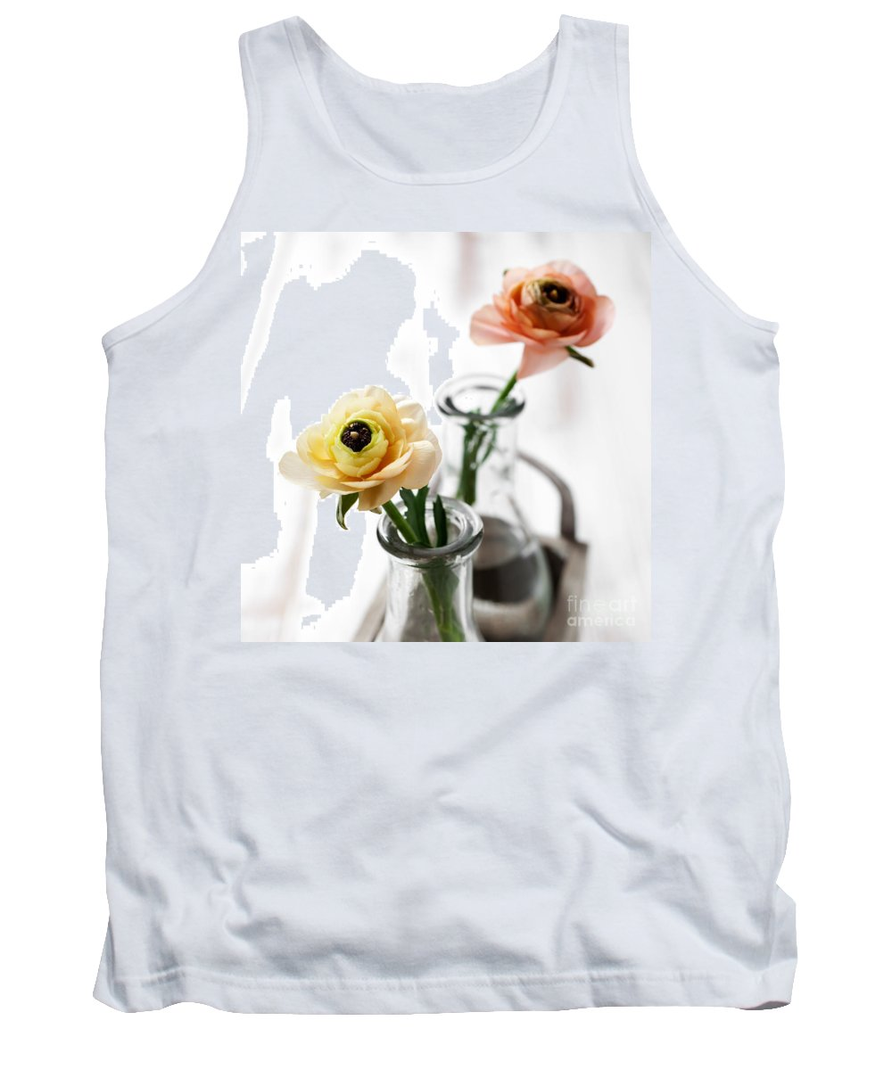 Ranunculus Tank Top featuring the photograph Ranunculus by Kati Finell