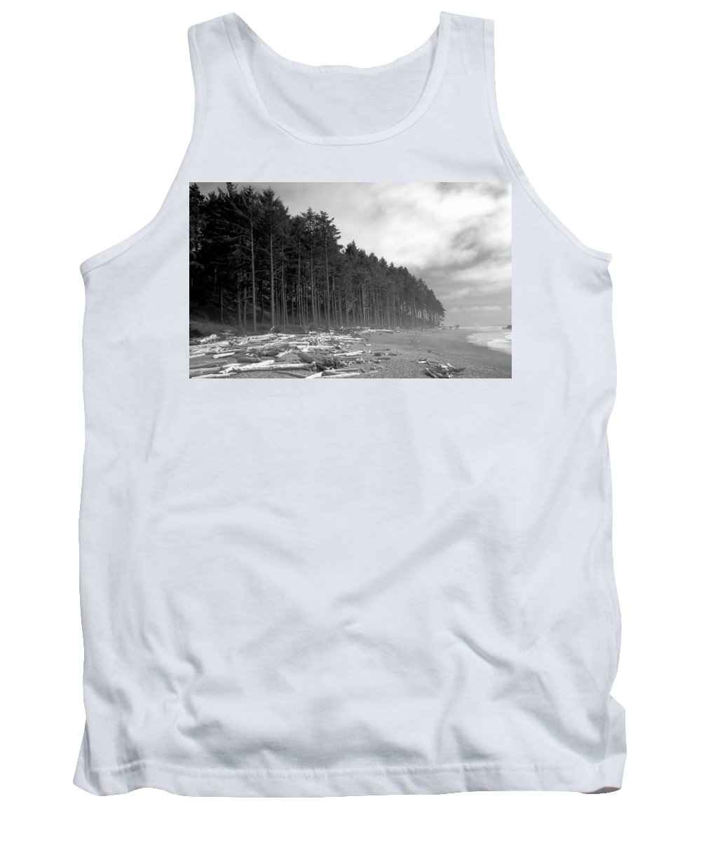 Fine Art Photography Tank Top featuring the photograph Raw Nature by David Lee Thompson