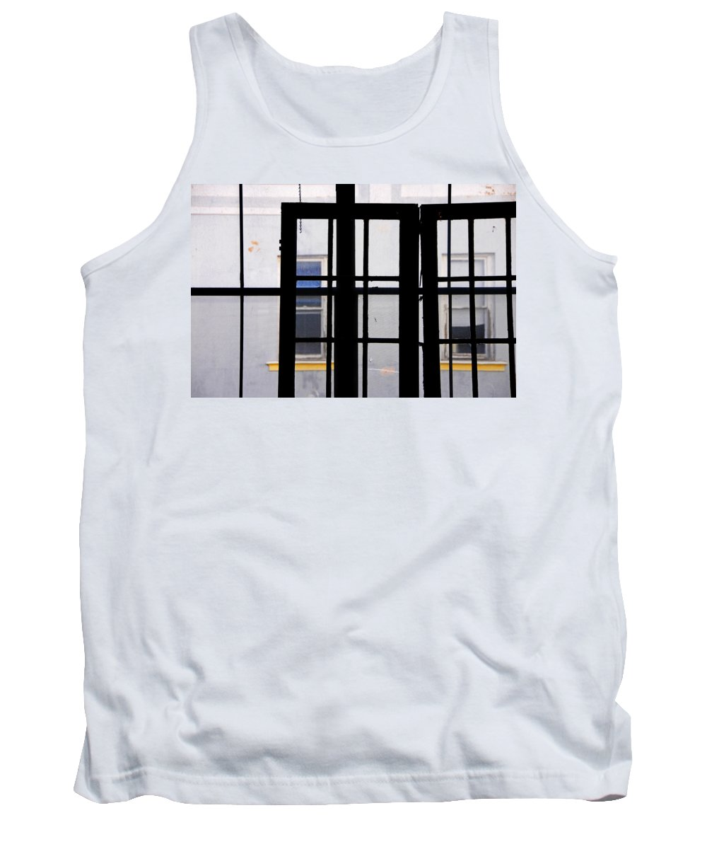 Skip Hunt Tank Top featuring the photograph Rear Window 1 by Skip Hunt
