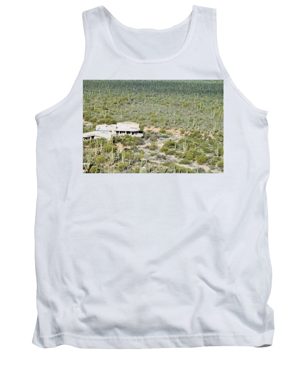 Arizona Tank Top featuring the photograph Red Hills Visitor Center by Dennis Boyd