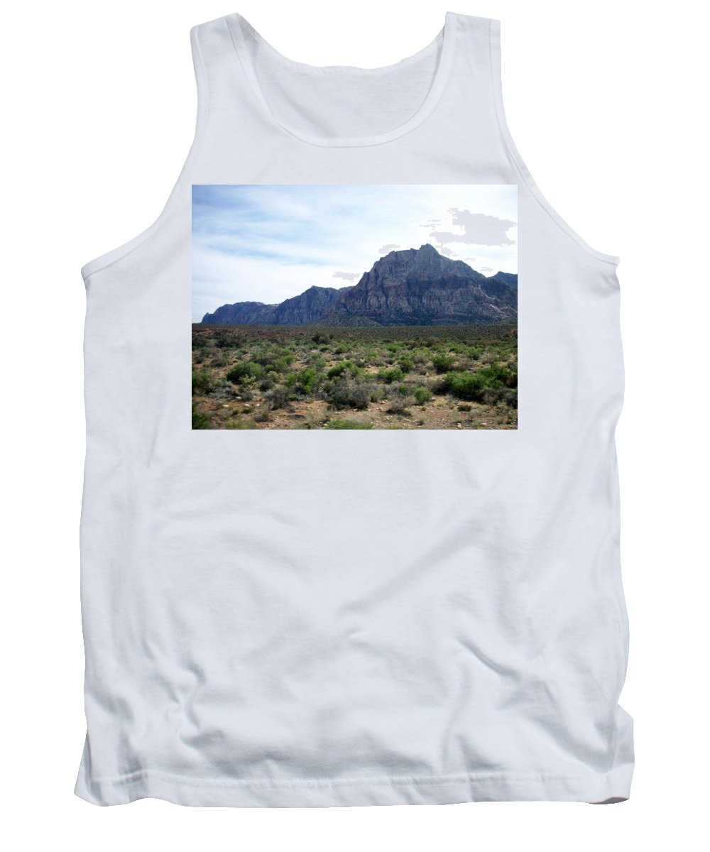 Red Rock Canyon Tank Top featuring the photograph Red Rock Canyon 3 by Anita Burgermeister