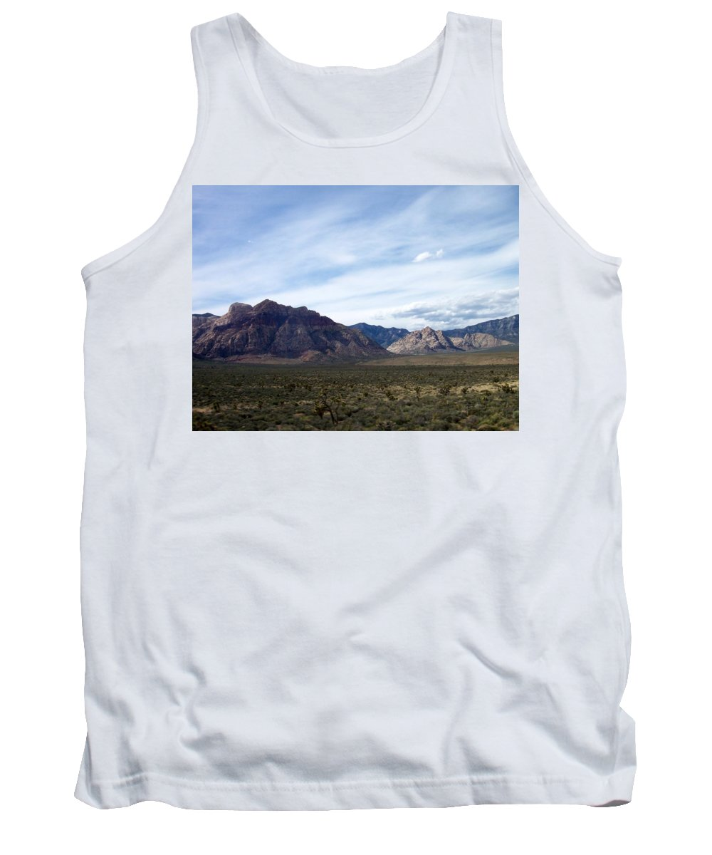 Red Rock Canyon Tank Top featuring the photograph Red Rock Canyon 4 by Anita Burgermeister
