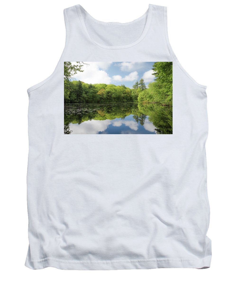 Alan Brown Tank Top featuring the photograph Reflecton On Tranquility by Alan Brown