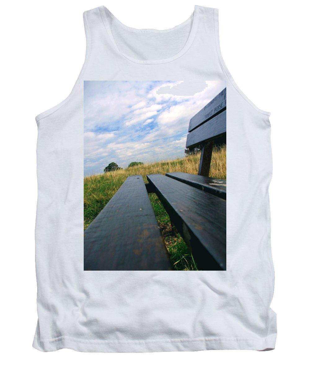 Sympathy Tank Top featuring the photograph Remembrance by Heather Lennox