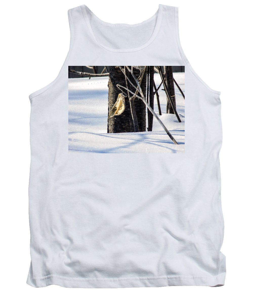 Seed Pod Tank Top featuring the photograph Remnant Seed Pod by William Tasker