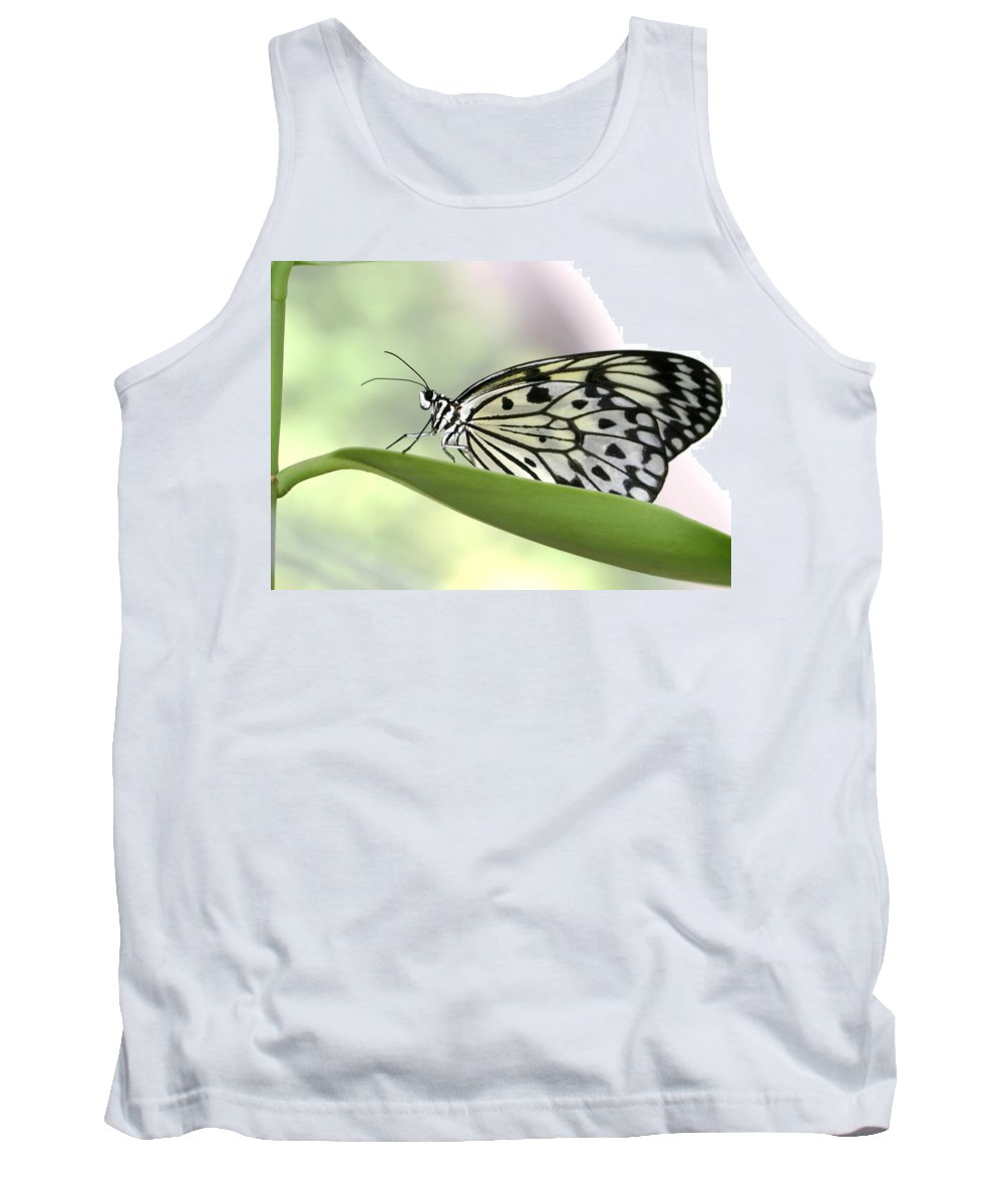 Butterfly Tank Top featuring the photograph Resting by Sabrina L Ryan