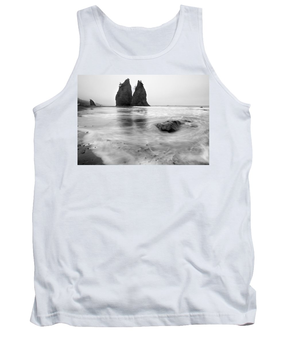 Beach Tank Top featuring the photograph Rialto Reflections by Mike Dawson