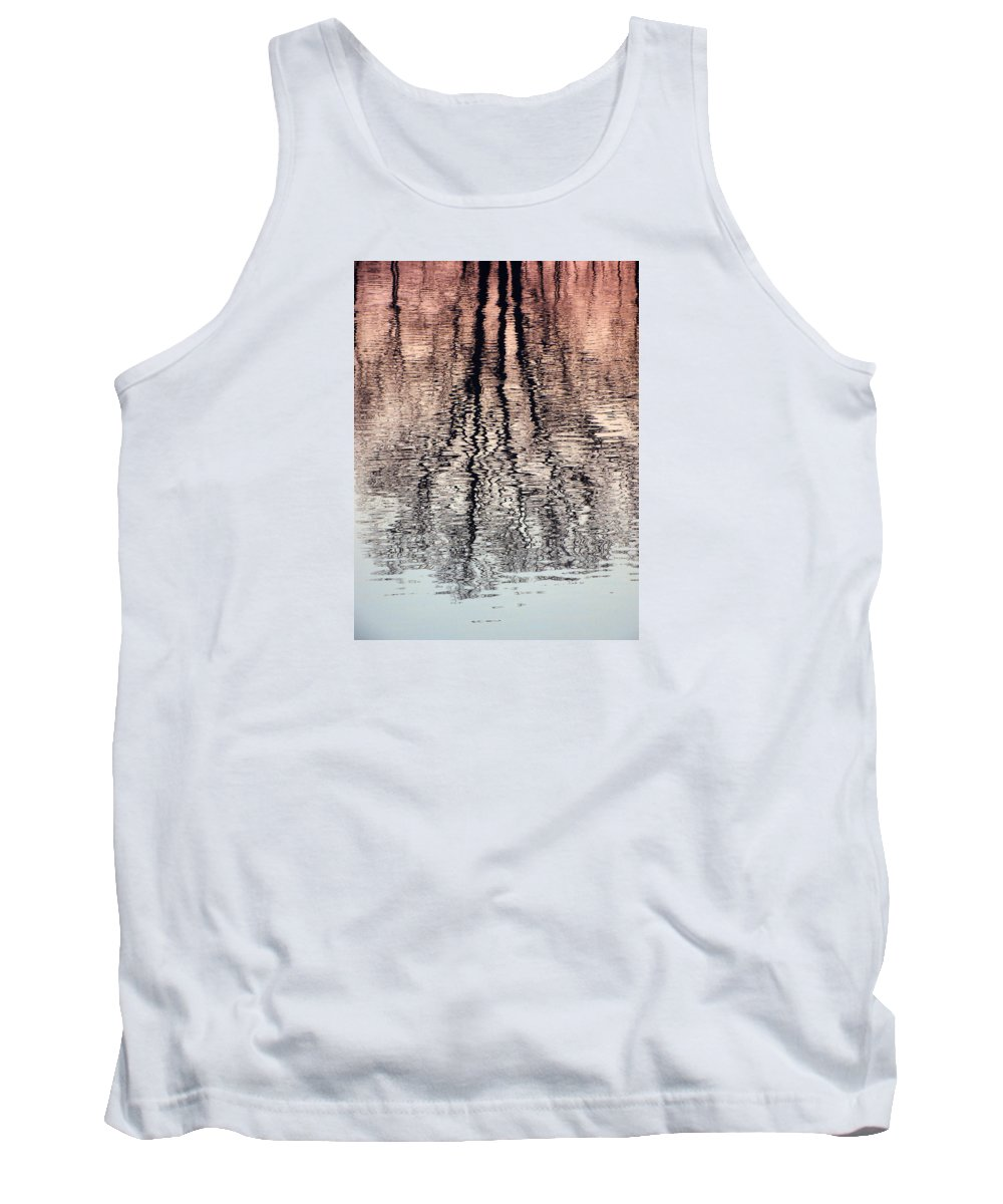 Waves Tank Top featuring the photograph Rippled Reflection by J R  Seymour