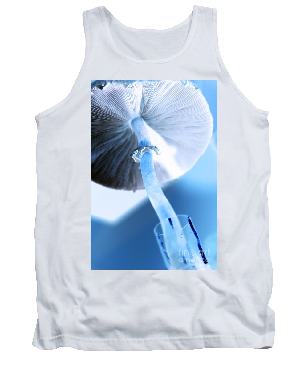modern Mushroom Tank Top featuring the photograph Rise by Amanda Barcon