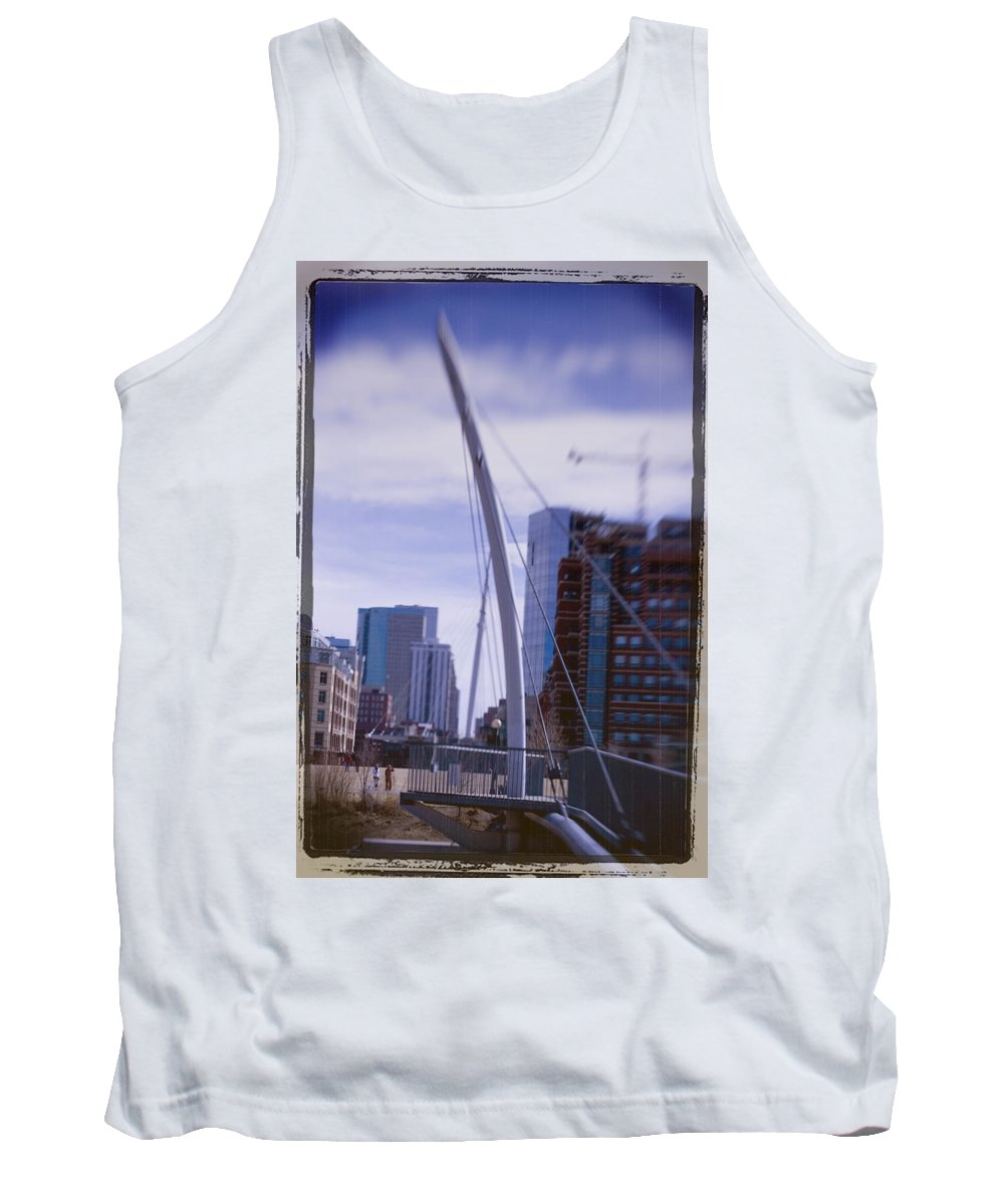 Denver Tank Top featuring the photograph River Front Park by Jeffery Ball