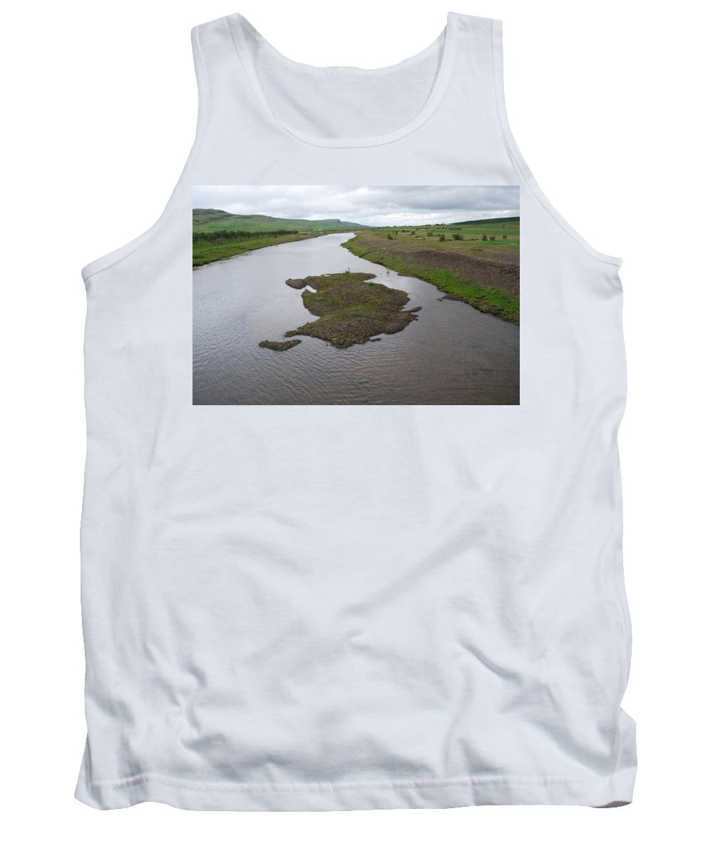 River Tank Top featuring the photograph River by Kristen Bird