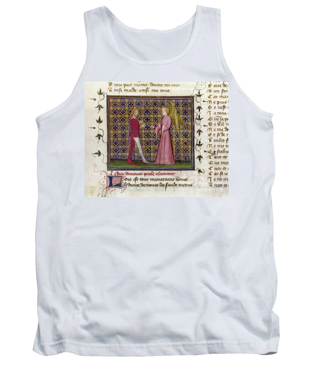15th Century Tank Top featuring the photograph Romance Of The Rose by Granger
