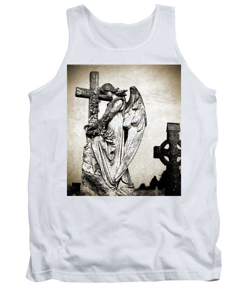 Ireland Tank Top featuring the photograph Roscommon Angel No 1 by Teresa Mucha