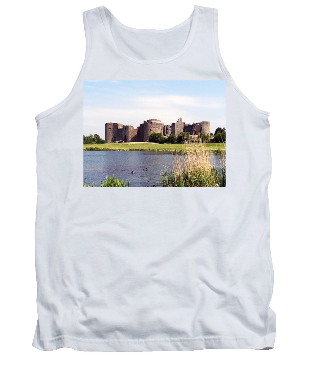 Roscommon Tank Top featuring the photograph Roscommon Castle Ireland by Teresa Mucha