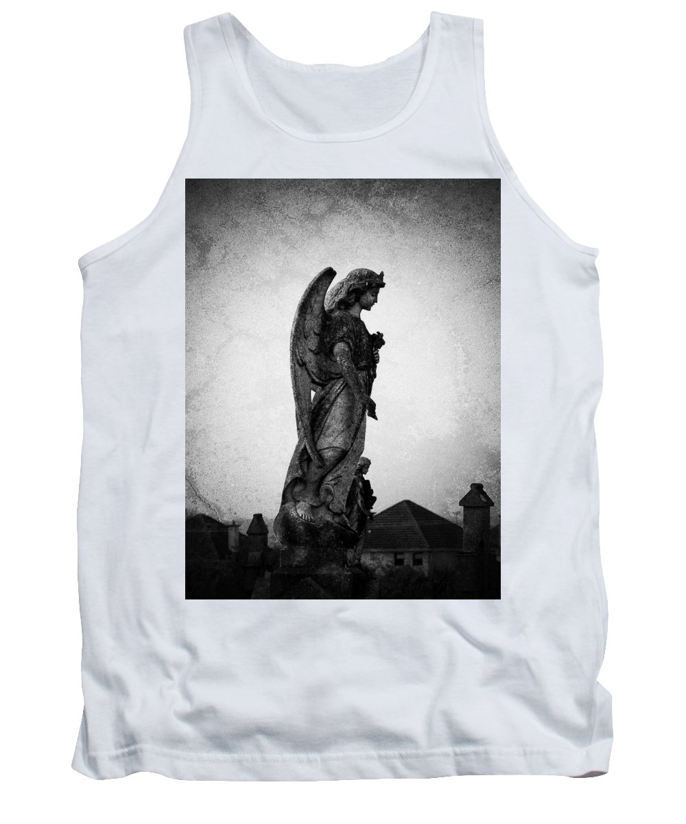 Roscommon Tank Top featuring the photograph Roscommonn Angel No 4 by Teresa Mucha