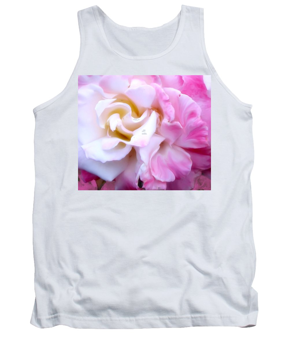 Flowers Tank Top featuring the photograph Rose by Karen W Meyer