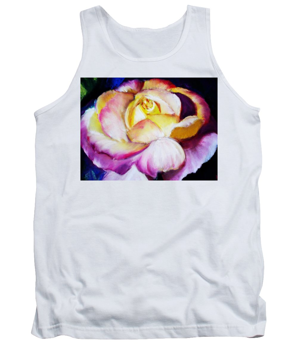 Rose Tank Top featuring the print Rose by Melinda Etzold