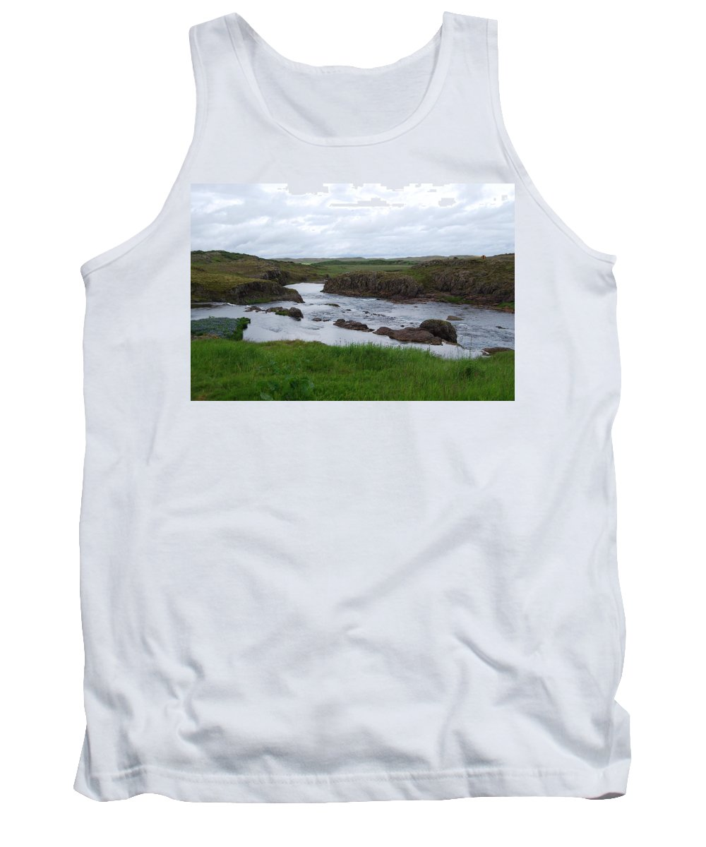 River Tank Top featuring the photograph Rushing River by Kristen Bird